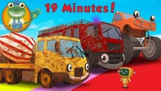 getlinkyoutube.com-Cleaning Muddy Trucks and Construction Vehicles | Gecko's Garage Car Wash