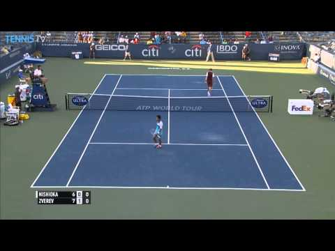 Nishioka Rare Hot Shot Washington 2015