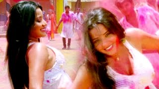 getlinkyoutube.com-Hot Monalisa Holi - सारा रा रा  होली है - Adalat - Nirahuaa & Monalisa - Bhojpuri Hot Songs 2017 new