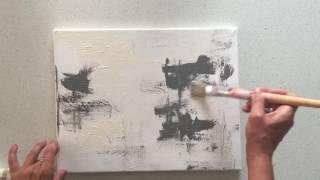 Abstract art tutorial for beginner