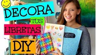 getlinkyoutube.com-Decora tus libretas DIY!