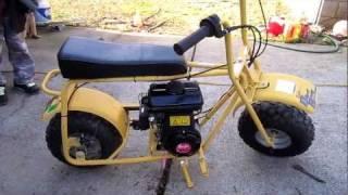 getlinkyoutube.com-Baja Doodle Bug Mini Bike 97cc