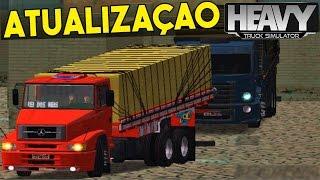 getlinkyoutube.com-Atualização Heavy Truck Simulator - (Nova Cidade + Balança)