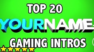 getlinkyoutube.com-(BEST) Top 20 FREE 3D GAMING Intro Templates - AFTER EFFECTS, SONY VEGAS, CINEMA 4D