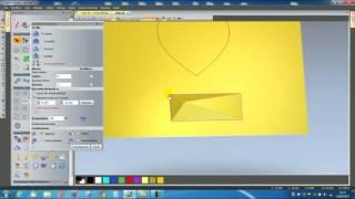 getlinkyoutube.com-Artcam 3D Blend ( Raccorda Vettori )