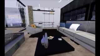 getlinkyoutube.com-The Sims 3 Modern House - Luxury Holiday Mansion [HD]