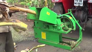 getlinkyoutube.com-KAVISH AGRO FARM EQUIPMENTS-ERODE CELL:90803 57035,98652 54302-FARMWASTE SHREDDER -BANANA WASTAGE