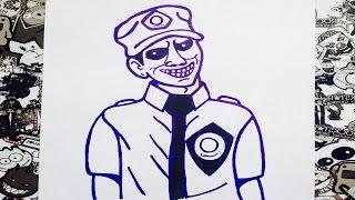 getlinkyoutube.com-Como dibujar al hombre morado five nights at freddy's °how to draw  the purple man