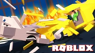 CAN YOU SURVIVE A CAR CRASH IN ROBLOX??