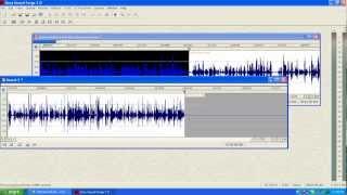 Sound Forge 7.0 Quickstart Video Tutorial - Audio Forensic Expert