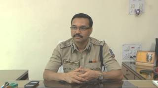 Interview of Sri Ajey Mukund Ranade, IPS, Commissioner of Police, Howrah to Samachar width=