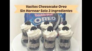getlinkyoutube.com-Vasitos De Oreo Cheesecake Sin Hornear/Mesa De Postres 4 De 9 Videos