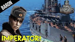 getlinkyoutube.com-Imperator Furiosa! NEW Russian Battleship - World of Warships