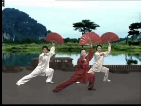 Tai Chi Kungfu Fan Dance