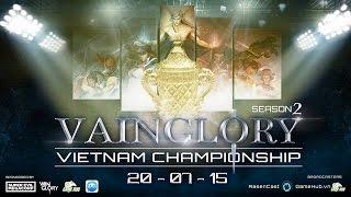 getlinkyoutube.com-[VVC2 Vainglory] Vainglory Việt Nam Championship Season 2   Vòng Group   Caster : Junky (Day 3)