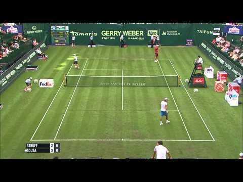 Gerry Weber Open 2014 - 1. Runde - Jan-Lenhard Struff vs. Joao Sousa