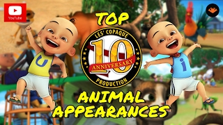 getlinkyoutube.com-Upin & Ipin Top 10 - Animal Appearances
