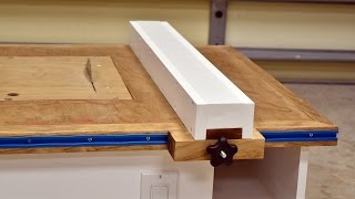 getlinkyoutube.com-Make A Table Saw Fence For Homemade Table Saw