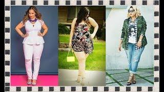 getlinkyoutube.com-Ropa para Gorditas   Vestidos para Gorditas   Moda 2015 para Gorditas ♥