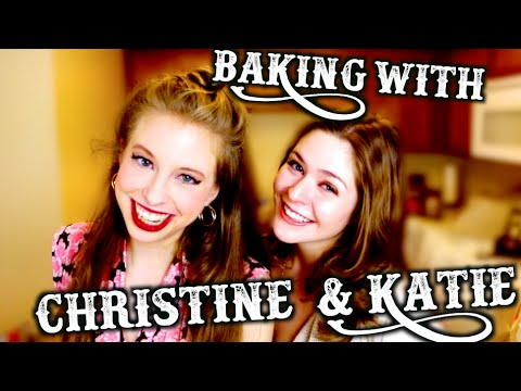 BAKING WITH CHRISTINE & KATIE | PIEING FOR 100,000