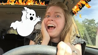MY SCARIEST DRIVE HOME EVER!