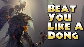 getlinkyoutube.com-Beat You Like a Dong!