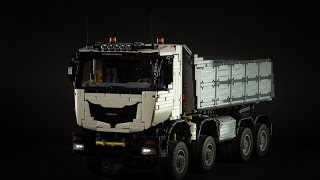 getlinkyoutube.com-Lego Technic Dump Truck 8x8