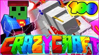 "getlinkyoutube.com-Minecraft CRAZY CRAFT 3.0 SMP - ""SUPERMAN VERSUS THE KING"" - Episode 100 SPECIAL"