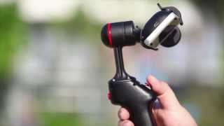 getlinkyoutube.com-Gazer SP1 Smartphone handheld ditigal gimbal stabilizing system