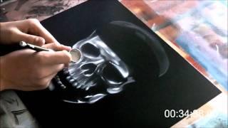 getlinkyoutube.com-Airbrush - Pirates of the Caribbean On Stranger Tide - Speed Paint (HD)