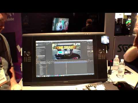 NAB 2012 - Adobe CS6 Discussion with Ellen Wixted
