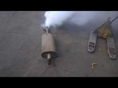 Жесть на СТО дымит двигатель