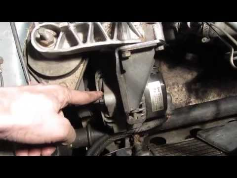Где ремень генератора у VAZ 2115
