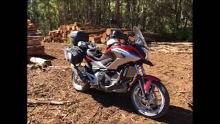 getlinkyoutube.com-Honda NC750X - 3 Day Trip