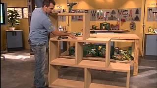 getlinkyoutube.com-¿cómo hacer una estantería modular decorativa?.