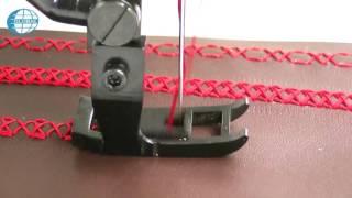 getlinkyoutube.com-Global OS 7707 - ORNAMENTAL STITCHING SEWING MACHINE