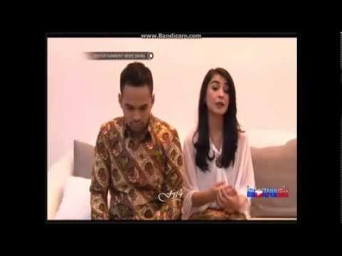 Teuku Wisnu & Shireen Sungkar @ E_News Siang ~ 01/12/13