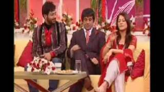 getlinkyoutube.com-Faisal Qureshi and Rambo With Sahiba in Good Mornig  Pakistan p2.mp4