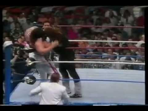 WWF - The Undertaker vs Tugboat , December 1990