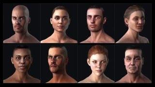 Universal 3D Head - Realistic Human 100