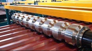 getlinkyoutube.com-Оборудование для производства профнастила до 45 м/мин