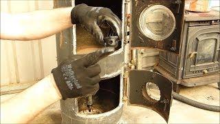getlinkyoutube.com-Really Cheap DIY project --  Waste Oil Stove Heater