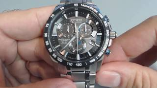 getlinkyoutube.com-Men's Citizen Perpetual Chronograph A-T Watch AT4010-50E