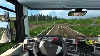 Euro Truck Simulator 2. Mapa EAA 2.9. Curitiba/Itajai 1º Viagem