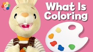 getlinkyoutube.com-What is it? COLORING | Harry the Bunny | BabyFirstTV