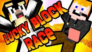 getlinkyoutube.com-Minecraft - Lucky block RACE!!!! [AZ ÖSSZECSAPÁS!]