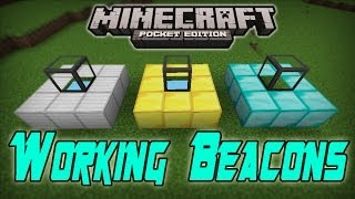getlinkyoutube.com-WORKING BEACONS MOD! Minecraft PE: Mod Showcase [0.8.1]