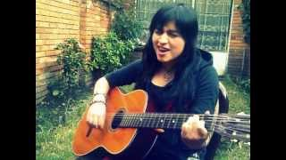 getlinkyoutube.com-Ángeles Fuimos - Dragon Ball Z - M.E.G Melisa García Cover
