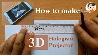 getlinkyoutube.com-How To Make 3D Hologram Projector With Your Smartphone
