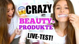 getlinkyoutube.com-Weiße Zähne in 5 Minuten? Armhaare bleichen? CRAZY BEAUTY PRODUKTE im TEST!♡ BarbieLovesLipsticks